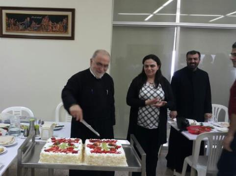 the-institute-of-theology-celebrates-25-years-of-priesthood-for-fr-gebran-al-laty