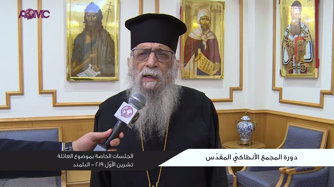 the-holy-synod-of-the-orthodox-church-of-antioch-october-2019-interviews-on-the-facts-about-family-5