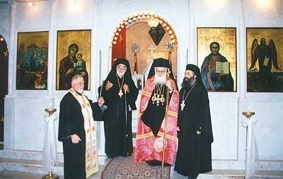 Visit of Archbishop Anastasios